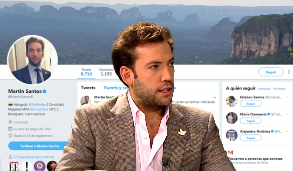 Twittero reveló el significado del tatuaje de Martín Santos | KienyKe
