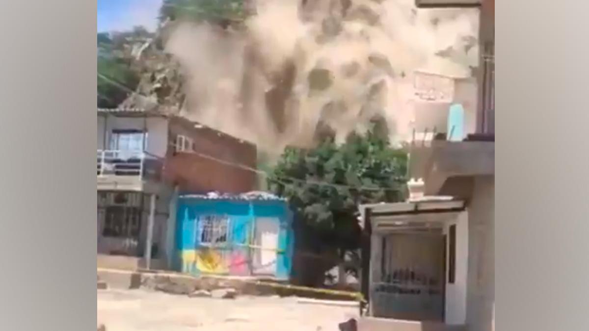 Calamidad Pública en Santa Marta por derrumbe que dejó un muerto | KienyKe