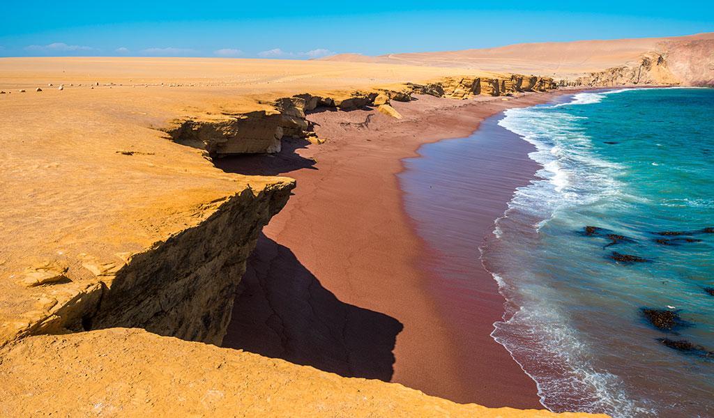 Destinos Inhospitos Playa Roja En Peru Kienyke