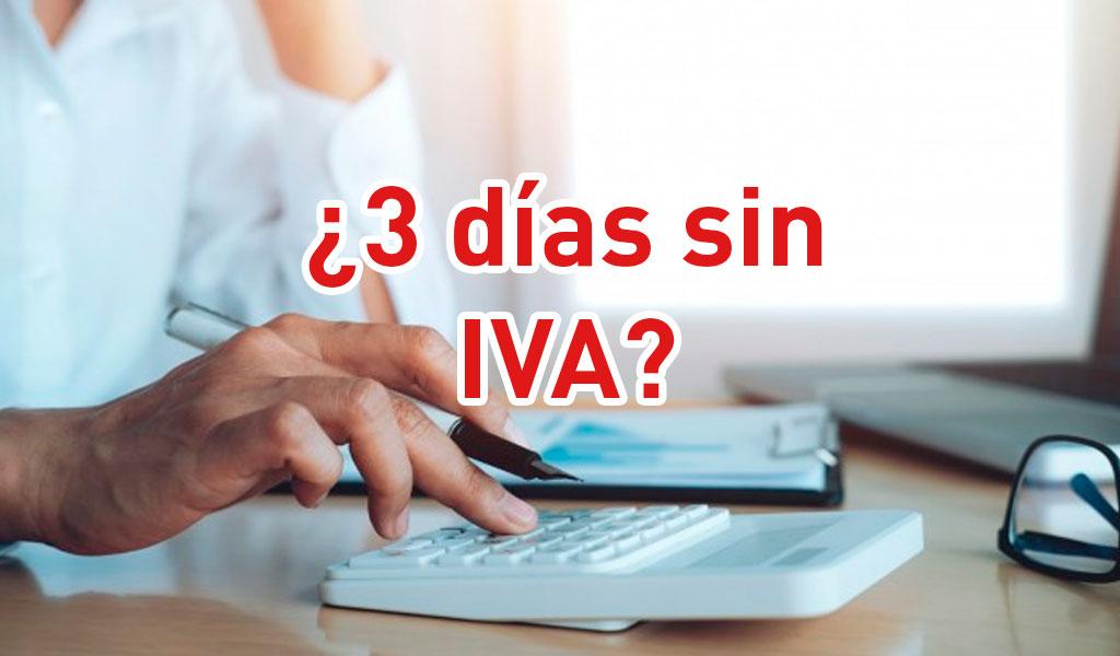 Cómo funcionarán los tres días sin IVA en Colombia? | KienyKe