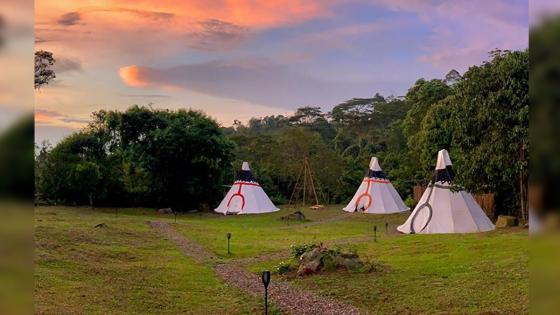 glamping tour colombia