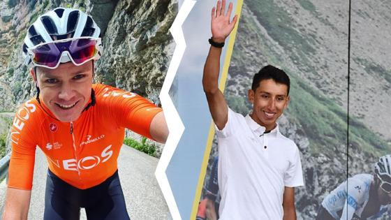 Chris Froome y Egan Bernal Team Ineos