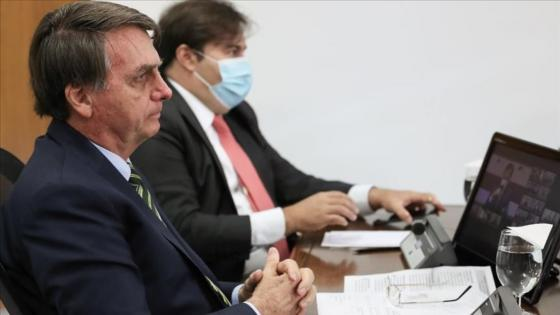 Video Jair Bolsonaro interferencia con la policia