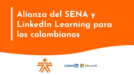 SENA + LinkedIn Learning