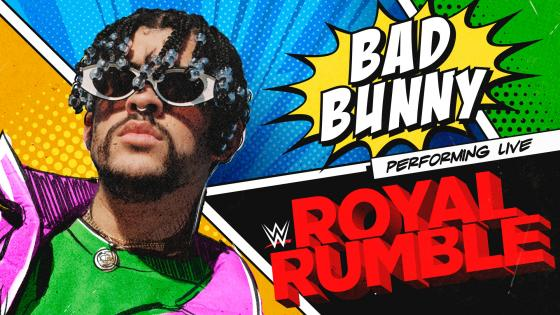 Bad Bunny en Royal Rumble de la WWE