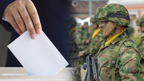 Centro Democrático propone que los militares puedan votar | KienyKe
