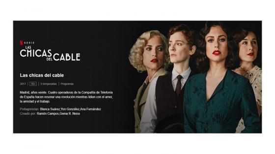 Las Chicas Del Cable  ultima temporada  Netflix