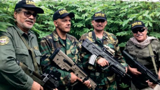 Con modernas armas, reaparecen Iván Márquez, Jesús Santrich y El Paisa