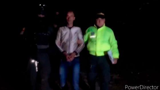 Capturan a El Flaco por asesinato de líderes sociales en Antioquia