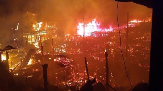 Así luce Riosucio, Chocó, tras devastador incendio — NOTICIAS
