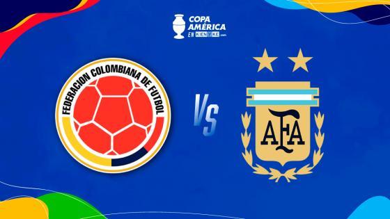 ¿A qué hora juega la Selección Colombia vs. Argentina en semifinales?   KienyKe