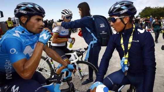 Nairo Quintana y Mikel Landa documental