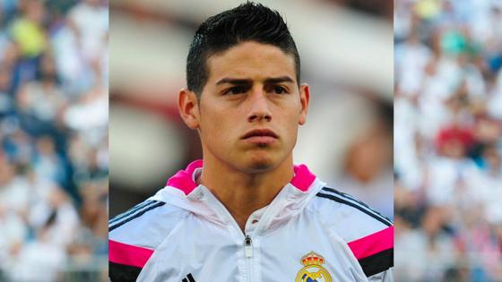 james real madrid