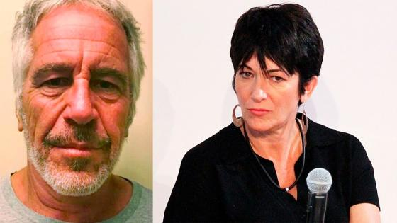 Crédito: Epstein en New Hampshire - NY State Sex Offender Registry / Ghislaine Maxwell - Cheetoskeeto