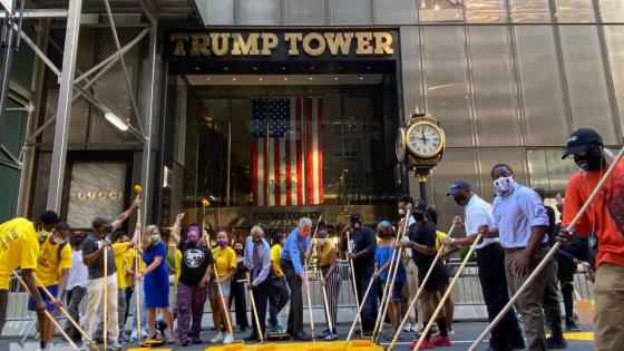 Black Lives Matter en la Trump Tower