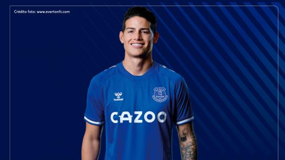James Rodríguez debutó con el Everton en la Premier league