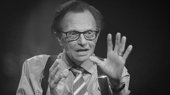 Larry King fallece a sus 87 años