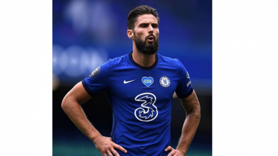 Olivier Giroud Chelsea Champions League