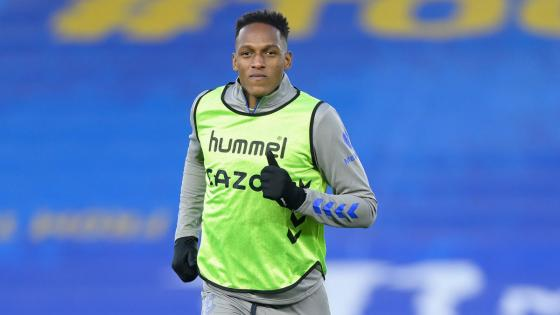 Yerry Mina Everton