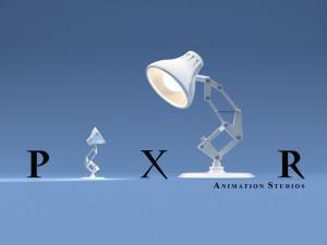 Luxo y Luxo Jr. en el logo de Pixar
