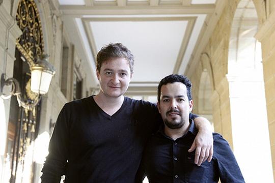 Juan Andrés Arango y Jorge Botero