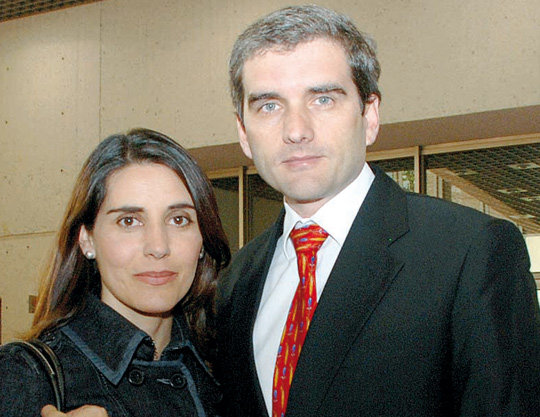 Patricia Arango y Félix de Bedout