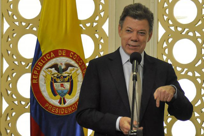 Santos cancela viaje a Cartagena