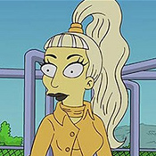 Lady Gaga Simpson