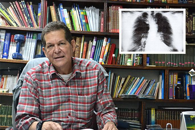 Profesor con transplante de pulmón