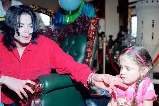Michael Jackson y su hija