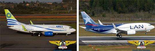 Aerolíneas Aires y LAN
