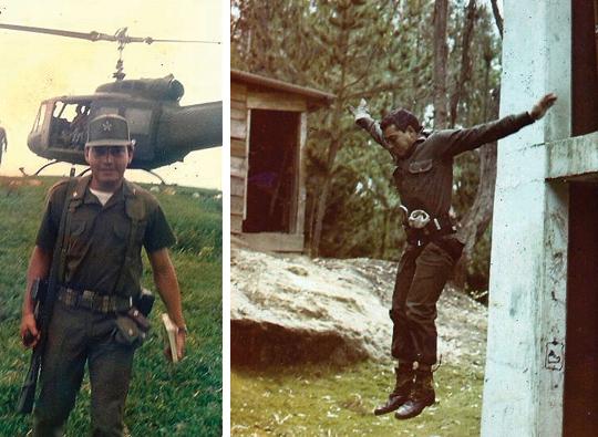 Mayor Humberto Cartal helicoptero