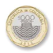 Nuevas monedas Colombia