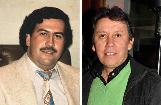 Pablo Escobar y Fernando de Jesús Álvarez