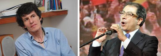 Juan Carlos Flórez y Gustavo Petro