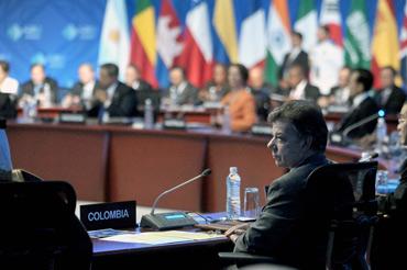 Juan Manuel Santos-G20