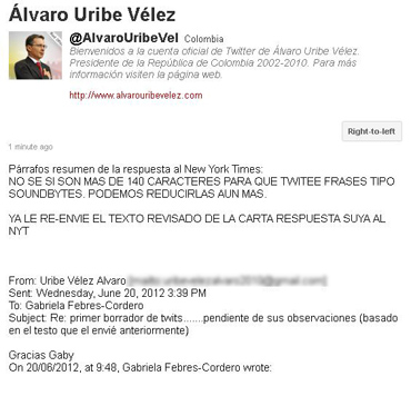 Twitter Uribe
