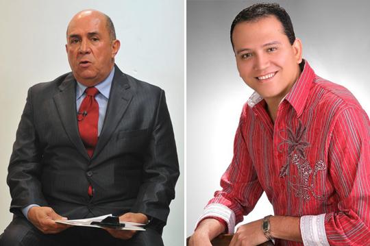Ubeimar Delgado y Francined
