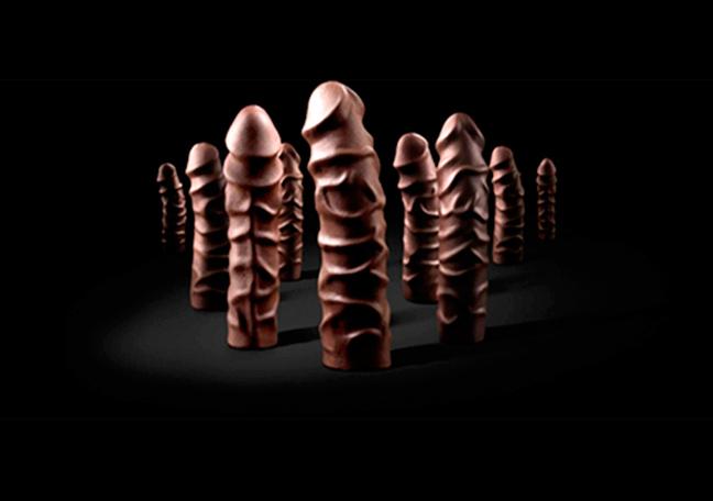 Pene de chocolate