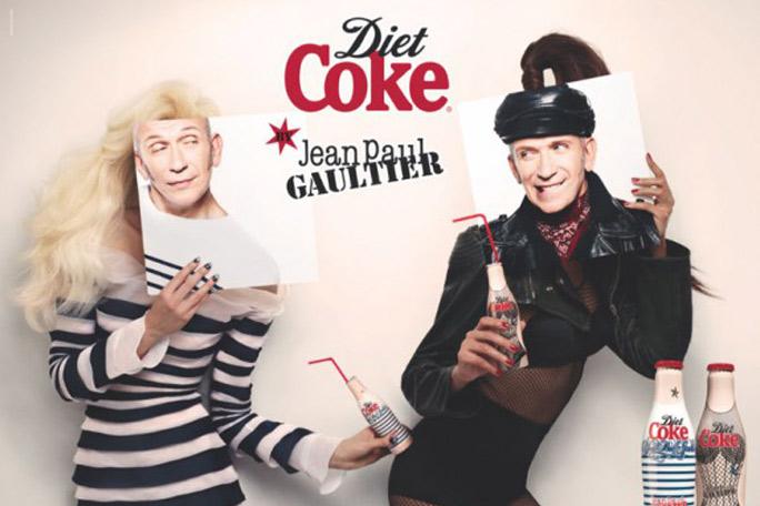 Jean Paul Gaultier , Coca Cola