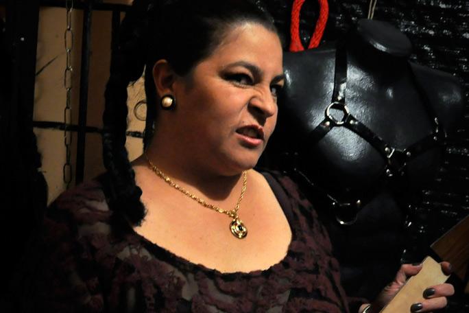 La reina del sadomasoquismo en Colombia