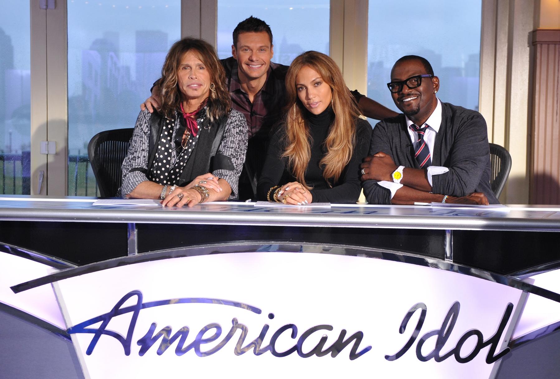 Americal Idol Jennifer Lopez Steven Tyler