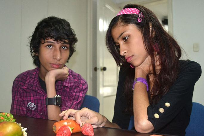 Anorexia, Angélica y Daniel Ceballos
