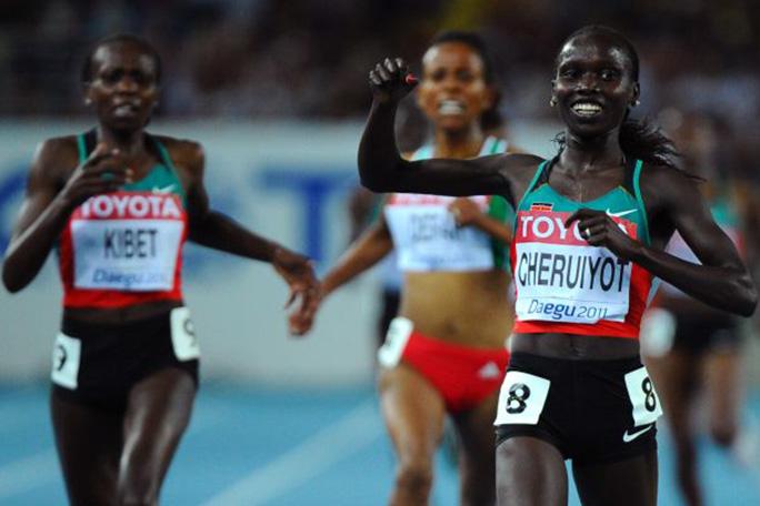 Atletas africanos