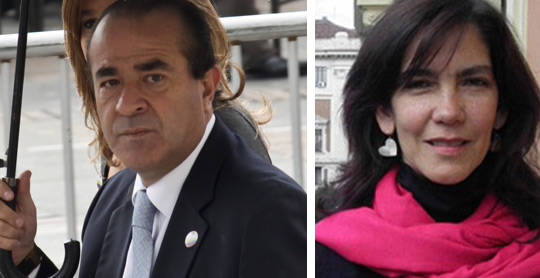 Cristian Toro y Silvia Amaya