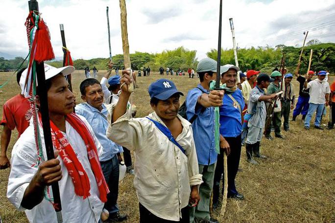 Indígenas del Cauca Caloto