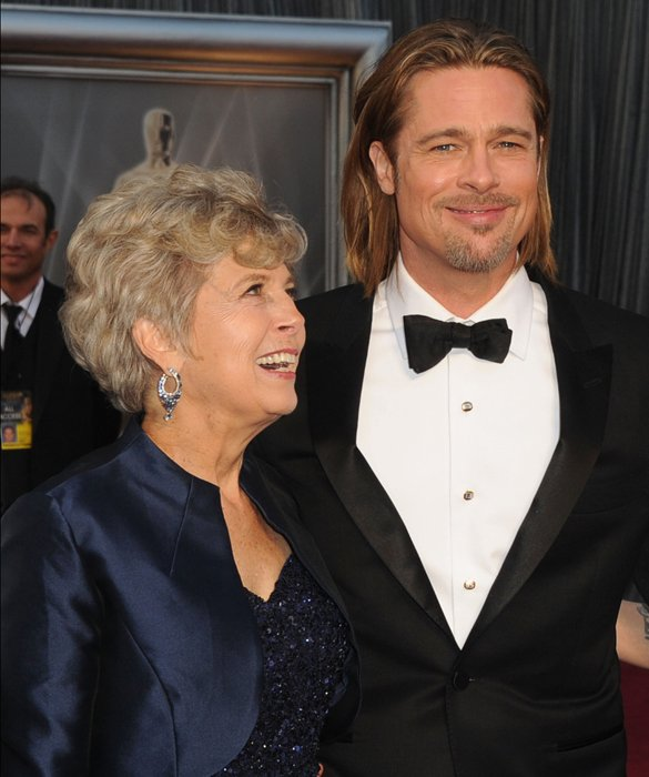 Jane Pitt y Brad Pitt