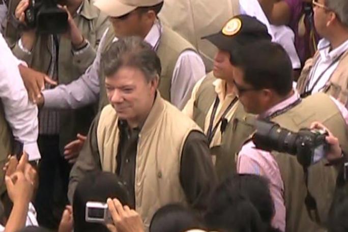 Juan Manuel Santos, Toribio