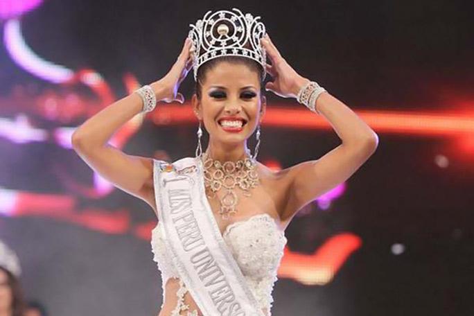 Miss Peru Cindy Mejía