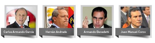 Presidentes del senado
